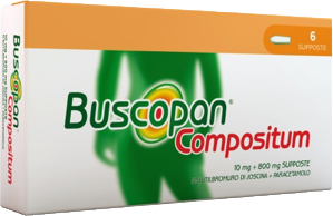 Buscopan Compositum® supposte  contro i dolori forti del tratto gastro-intestinale